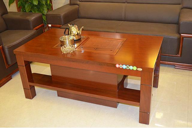 时尚现代简约实木茶几 办公客厅
