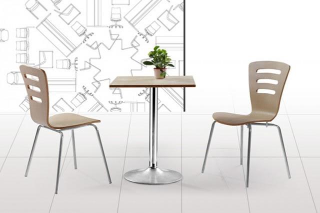 休闲餐桌椅 奶茶店桌椅 甜品店两人桌椅 WCZY006
