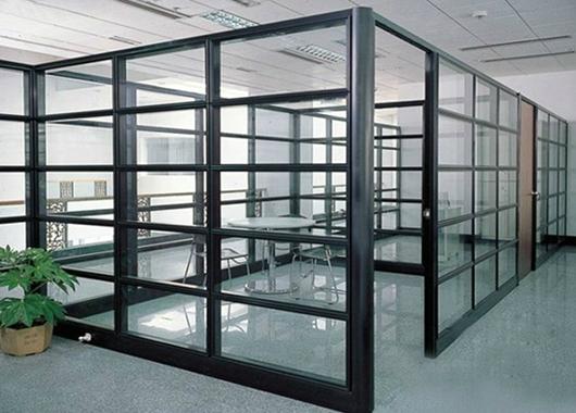 成品玻璃隔断-办公室成品玻璃隔