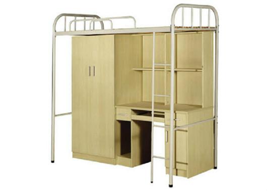高架床 上床下桌 学生公寓高架铁床 WXSC008