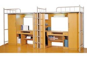 单人公寓床 大学生床公寓床 WXSC