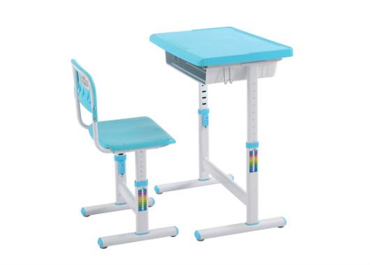 厂家直销中小学生课桌椅 可升降