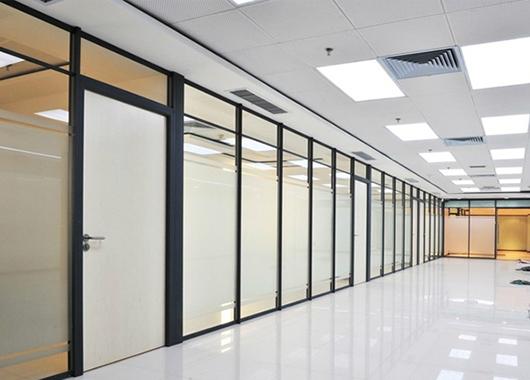 上海办公家具隔断 半开放办公室隔断 办公室磨砂隔断 WGGP023
