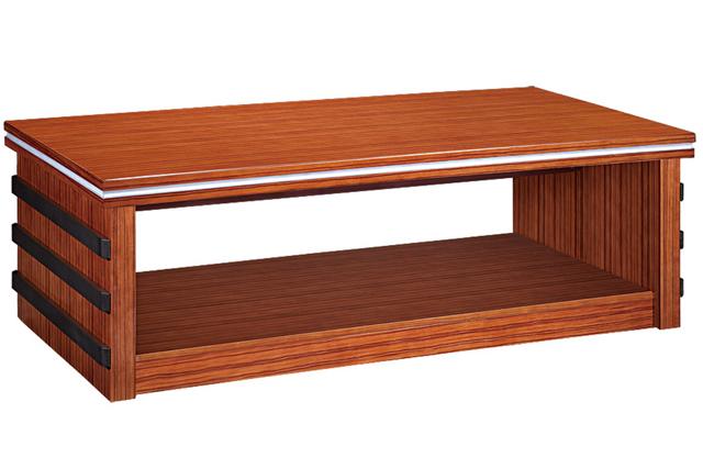 实木办公沙发 办公沙发茶几组合 WCJ018