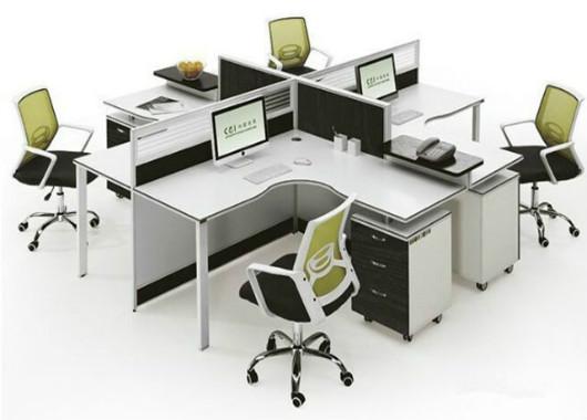 办公室四人位-四人位办公桌尺寸