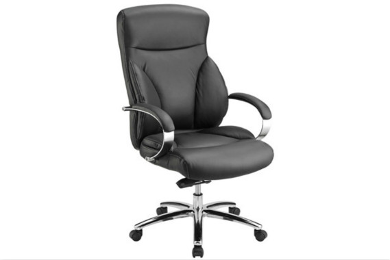 真皮老板椅 黑色总裁椅 LBY048