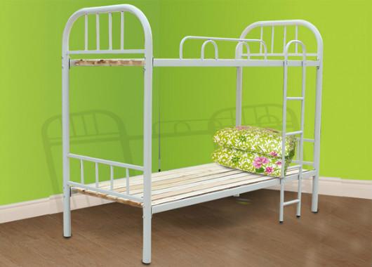 上下铺员工2人床位 铺铁管床现货 WXSC020