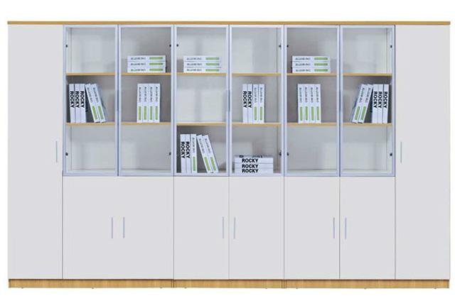 白色防火板文件柜 高文件柜型号