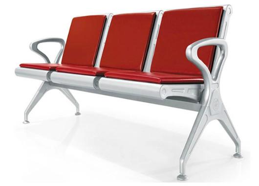 医院输液软包候诊椅 全钢沙发椅