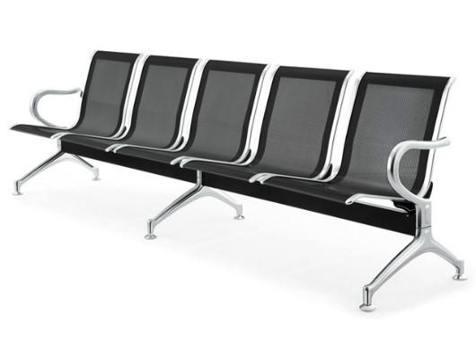 五人位排椅子 扶手定制等候长椅 DHY016