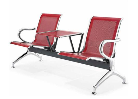金属等候椅 机场椅带茶几 DHY022