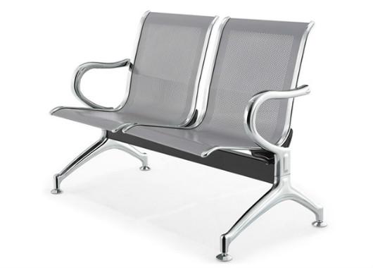 全钢沙发椅 双人位等候椅 DHY023
