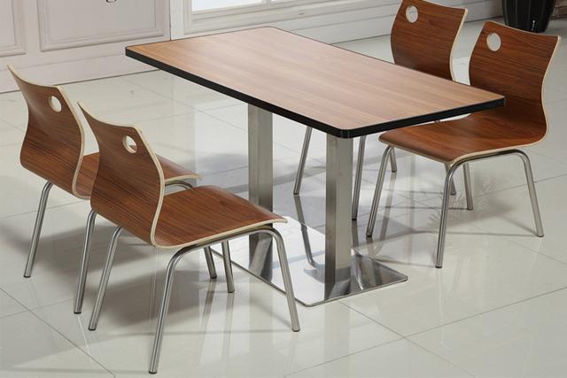 小吃店餐桌椅 甜品店桌椅 WCZY01