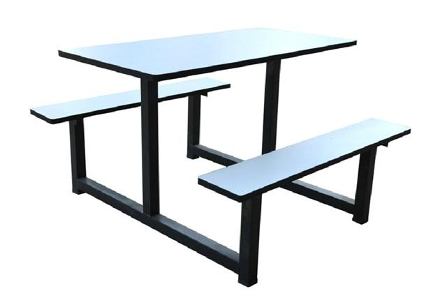 快餐店座椅组合 学校食堂餐桌椅 WCZY019