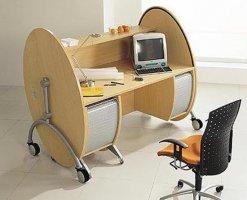 创意的办公桌椅范例图片赏析