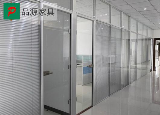 办公室高隔断 双玻百叶隔断 双玻璃百叶隔断 GGD150912