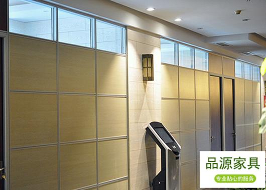 面板高隔断 办公区隔断墙 铝合金