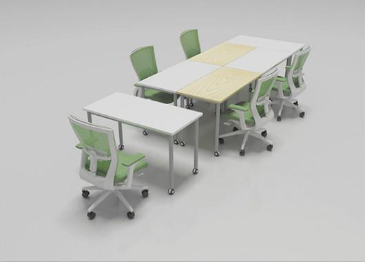长方形拼接会议桌