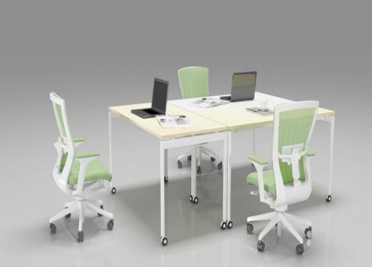 移动拼接会议桌 小型时尚会议桌