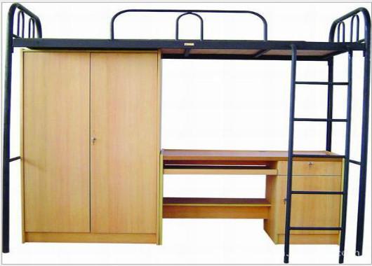 学生公寓床 带衣柜学生床 XSC201