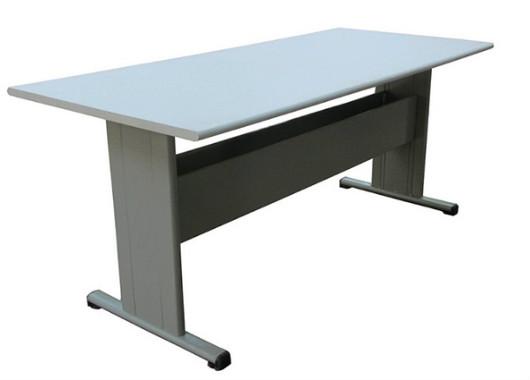 6人位阅览桌 钢制阅览桌 图书馆