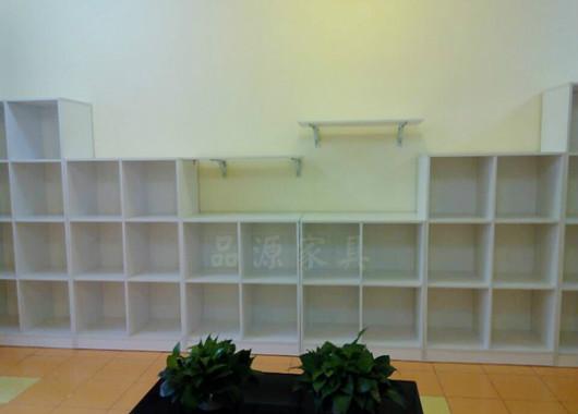 早教中心格子小柜 校园卡通玩具架 亲子早教书包柜 ZJZX15102802