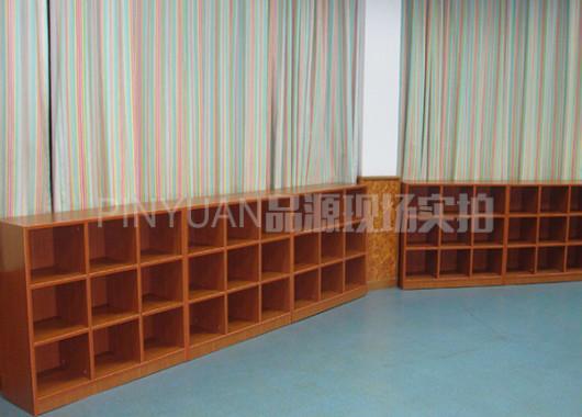 早教中心玩具架 木质置物架 ZJZX110303