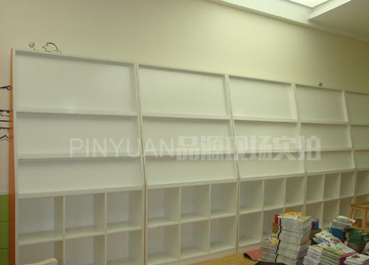 绘画作品展示栏 图书展示柜 ZJZX