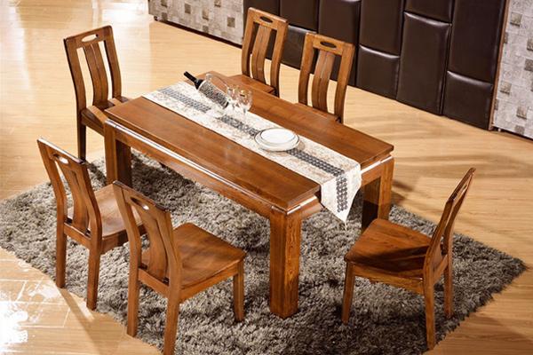 长方形饭桌 中式餐厅家具 CT1511