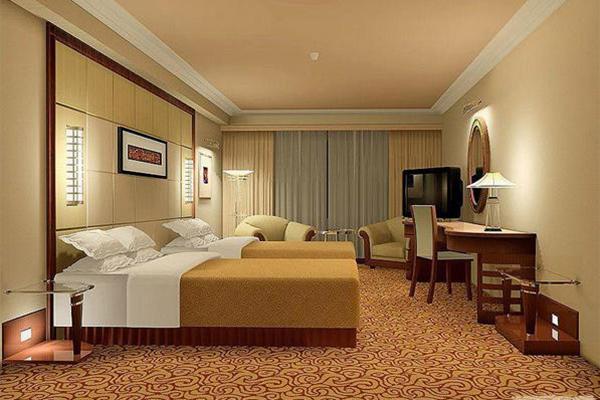 宾馆中档客房家具 客房配套家具
