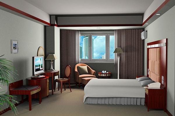 中式风格酒店家具 酒店式公寓家具 JD151109