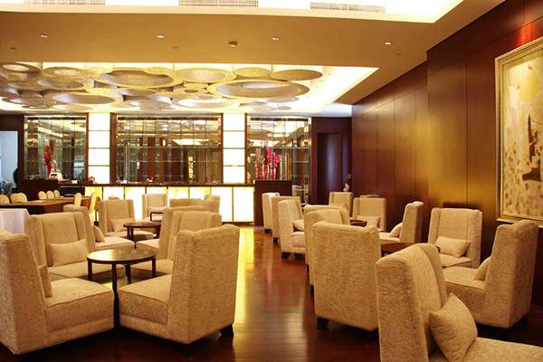 酒店大厅沙发 高背纯布沙发 JD151119