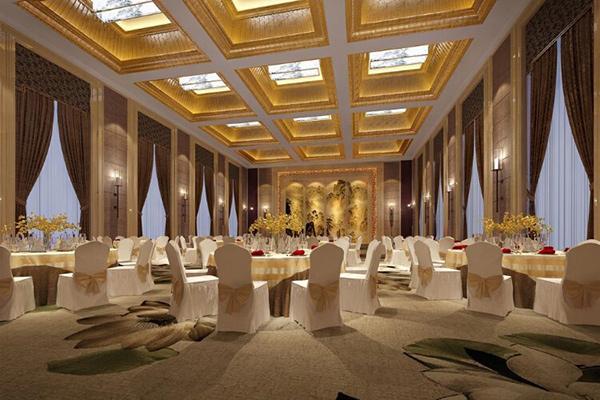 宴会餐桌椅 饭店包房餐桌椅 JD15