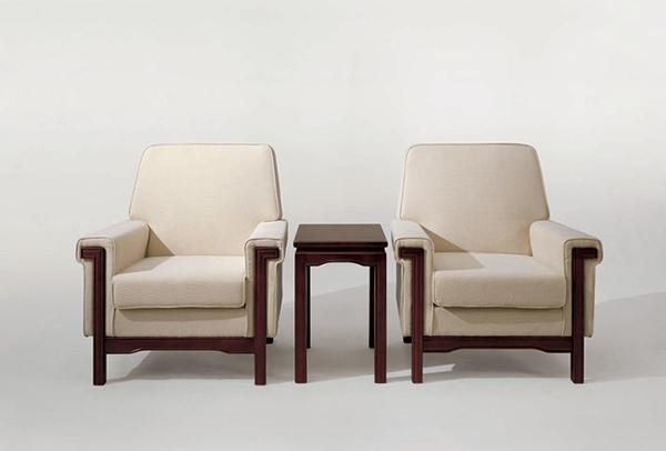 中式沙发椅 酒店客房沙发 JD151136