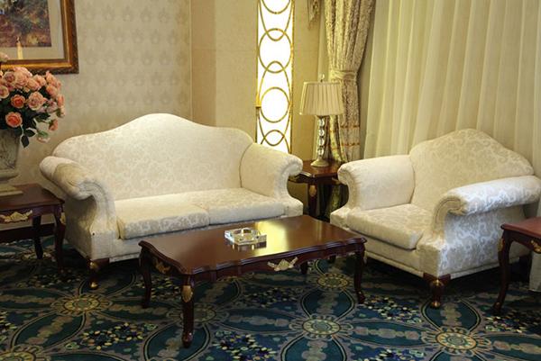 美式酒店沙發 酒店大廳沙發 JD151141