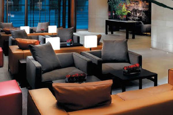 酒店大廳沙發 酒店沙發組合 JD151206