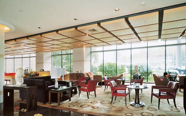 酒店大堂桌椅 沙发茶几组合 JD15