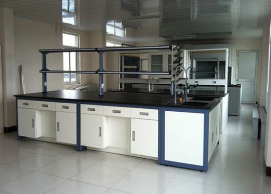 钢木实验桌-钢木结构实验桌