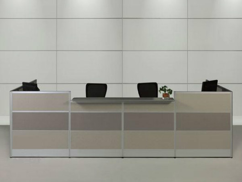 4s店办公前台 公司咨询办公前台 板式办公前台 QT160314012