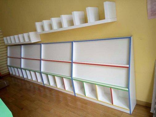 早教中心展示架 书籍画册置物架 ZJZX160504