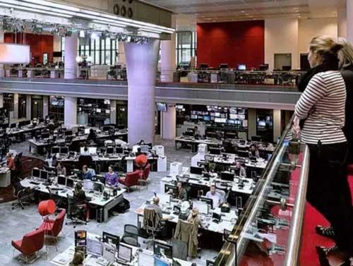 办公家具赏析-英国广播公司BBC