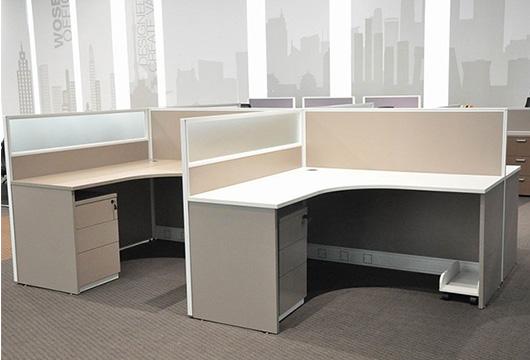 l型屏风隔断办公桌