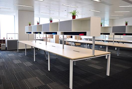 办公桌上柜-联排办公桌上柜