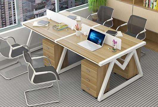 办公室桌椅-四人位办公室桌椅-办公室桌椅图片