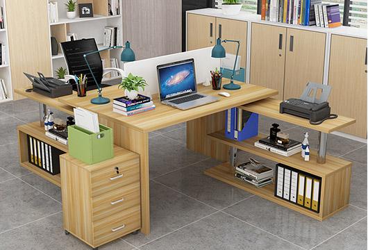 2人位办公桌-办公桌二人位-两人办公家具屏风办公桌