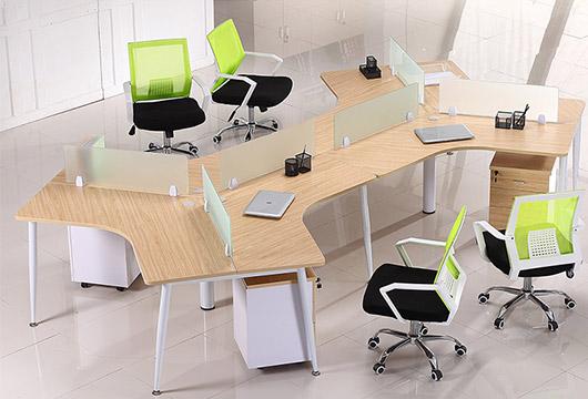 5人办公桌-办公桌5人位-5人办公桌尺寸