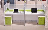 工位屏�L�k公桌 �化玻璃屏�L�k公桌 PF150916