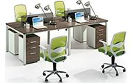 条形屏风办公桌_职员区屏风办公桌 WXPF041
