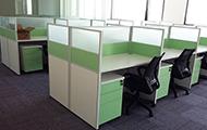 办公屏风绿色 职员办公屏风 PF160204