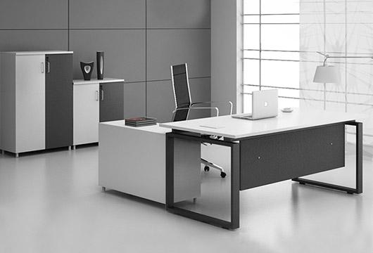 简约时尚板式老板桌 现代主管大班台 WBBT016